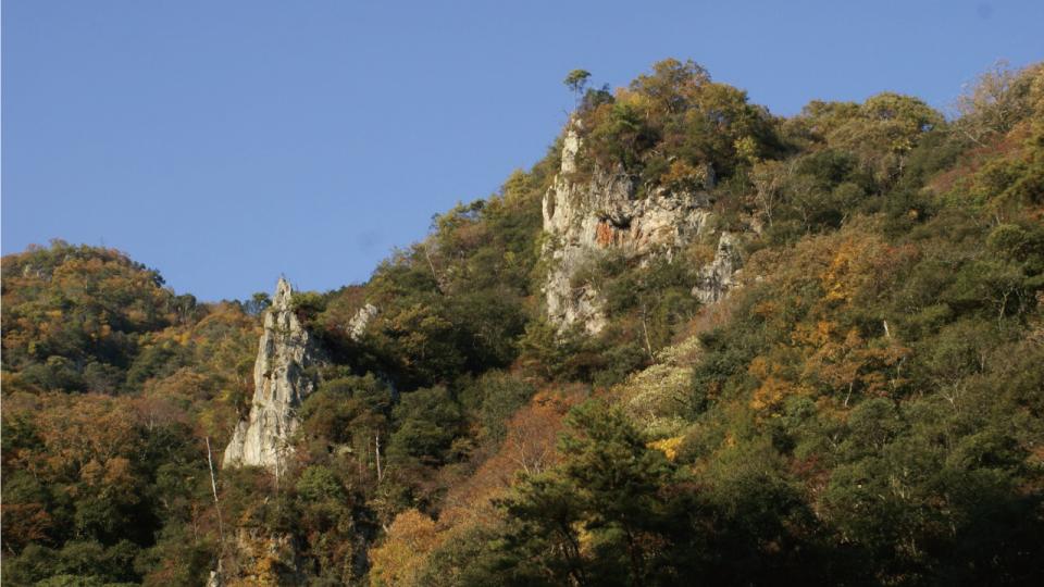 宇甘渓(吉備清流県立自然公園)